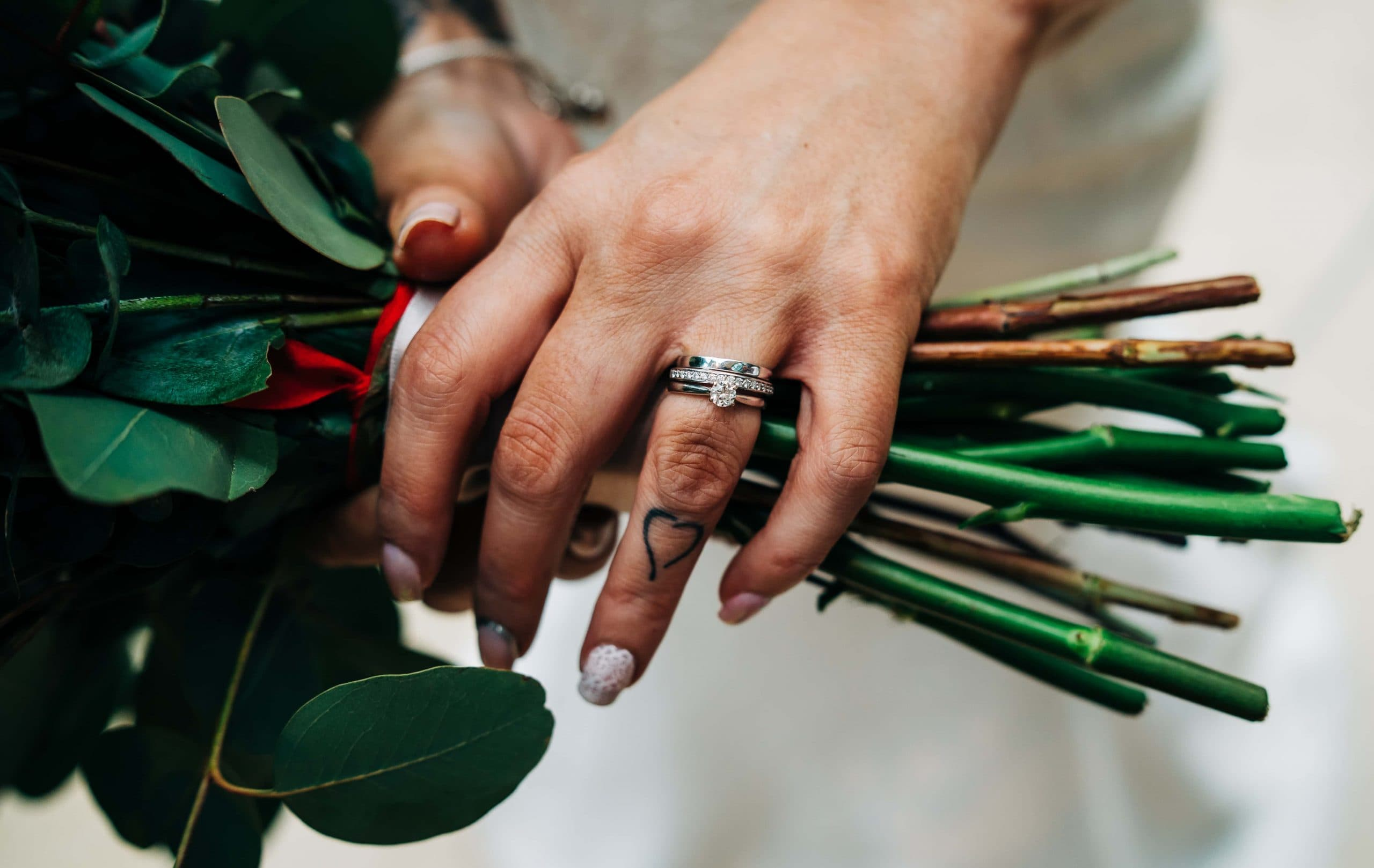 Wedding Rings, Just Married, Wedding Flowers