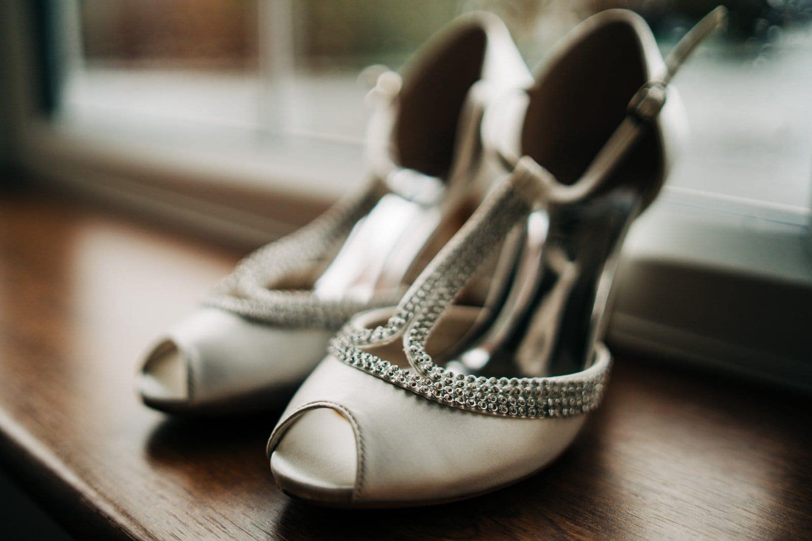 wedding shoes, derbyshire wedding, wedding morning
